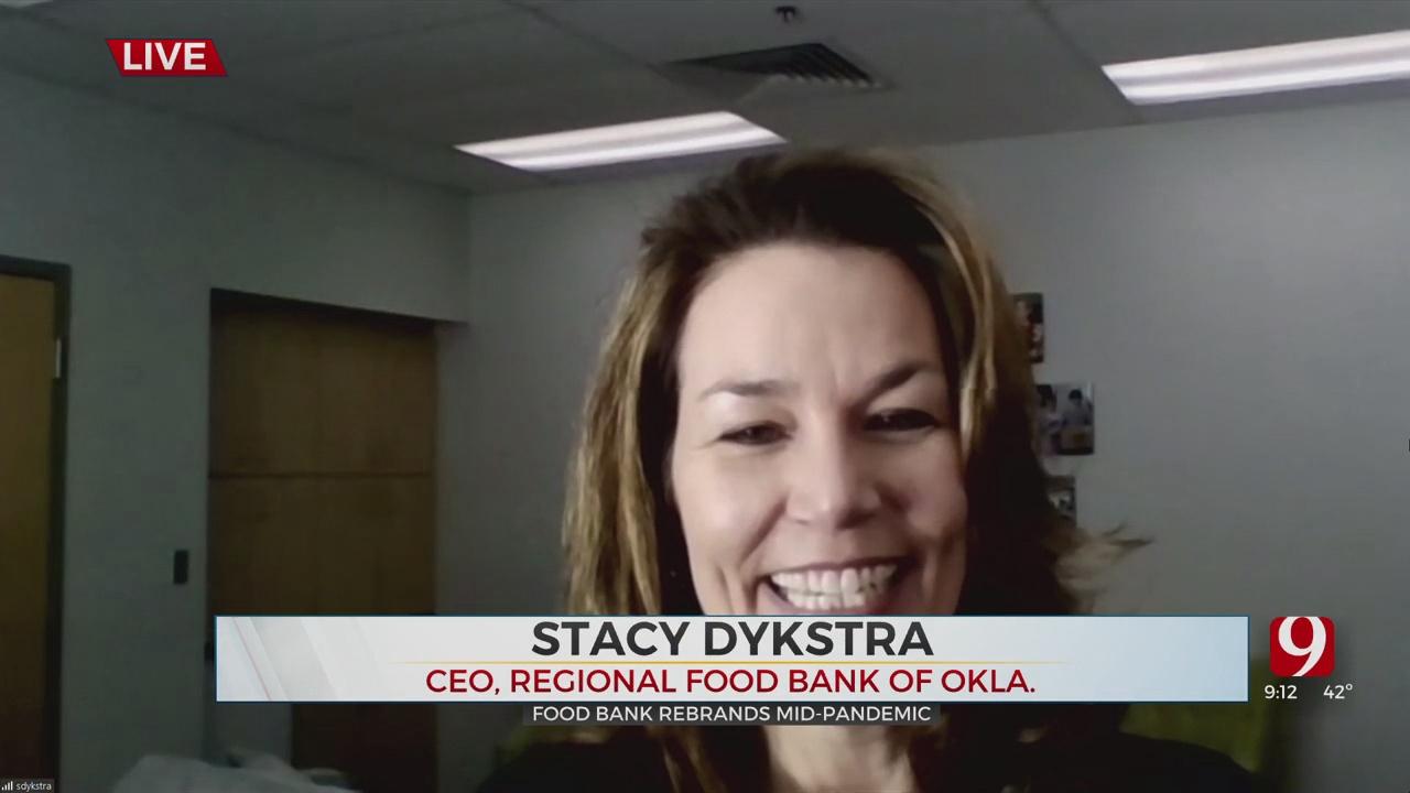 WATCH: Regional Food Bank Of Oklahoma Rebrands Mid-Pandemic