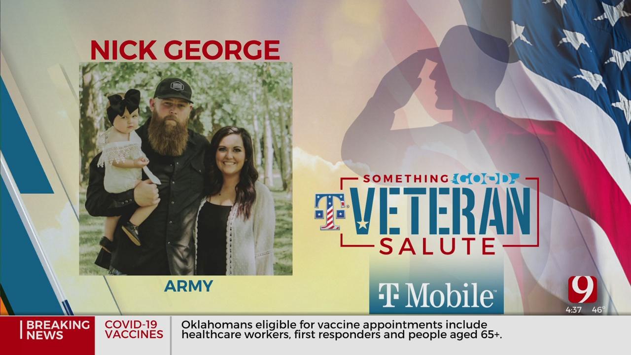 Veteran Salute: Nick George