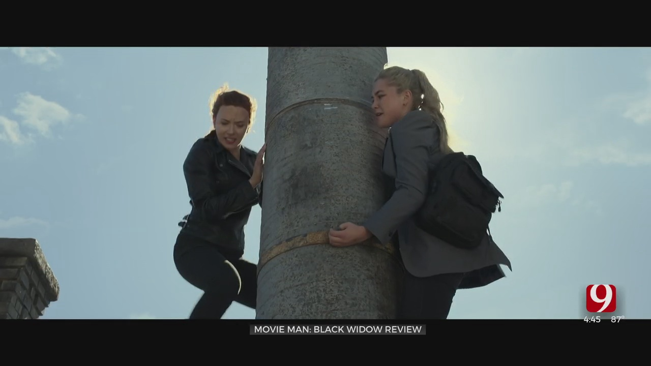 Dino's Movie Moment: 'Black Widow' Review