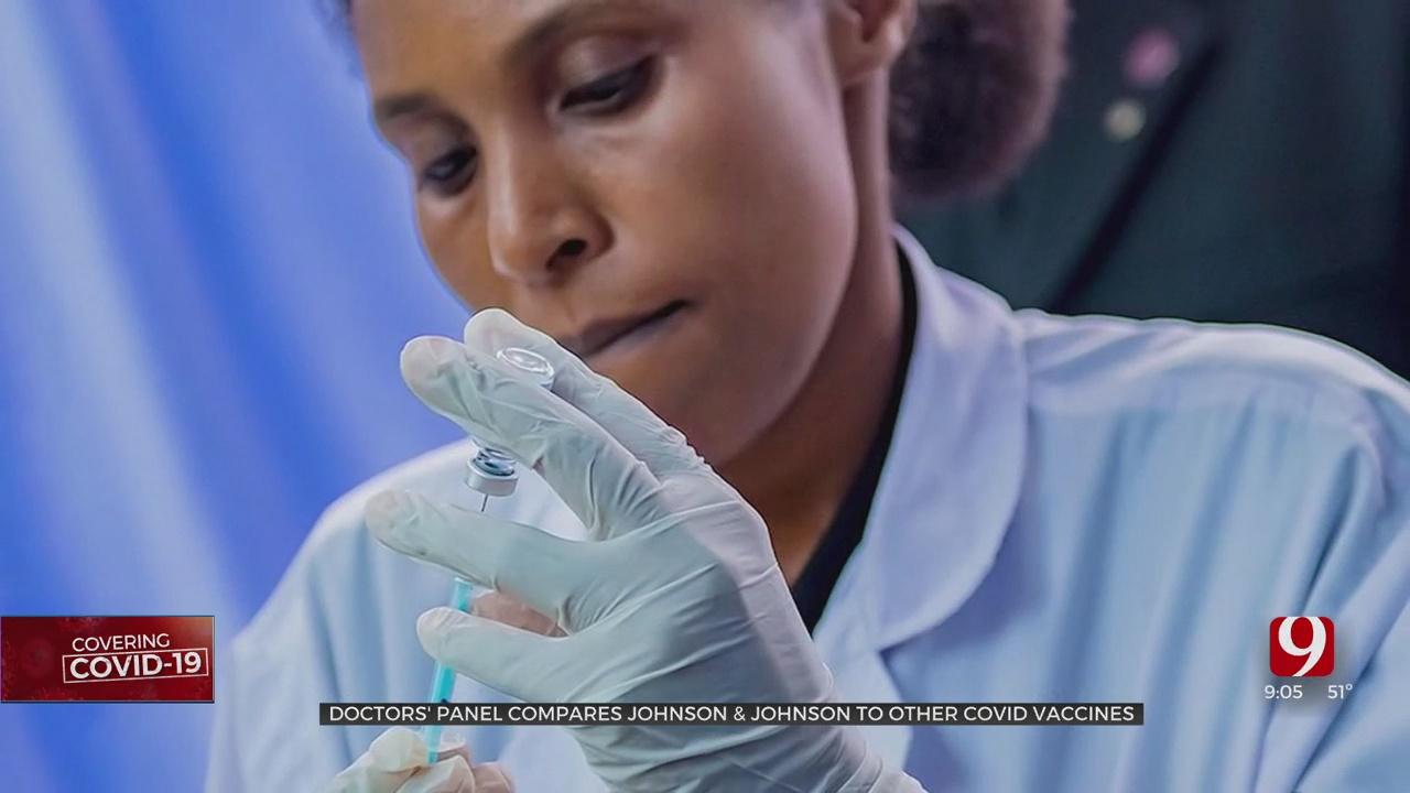 Panel Of Doctors Discuss Johnson & Johnson Vaccine In Okla.