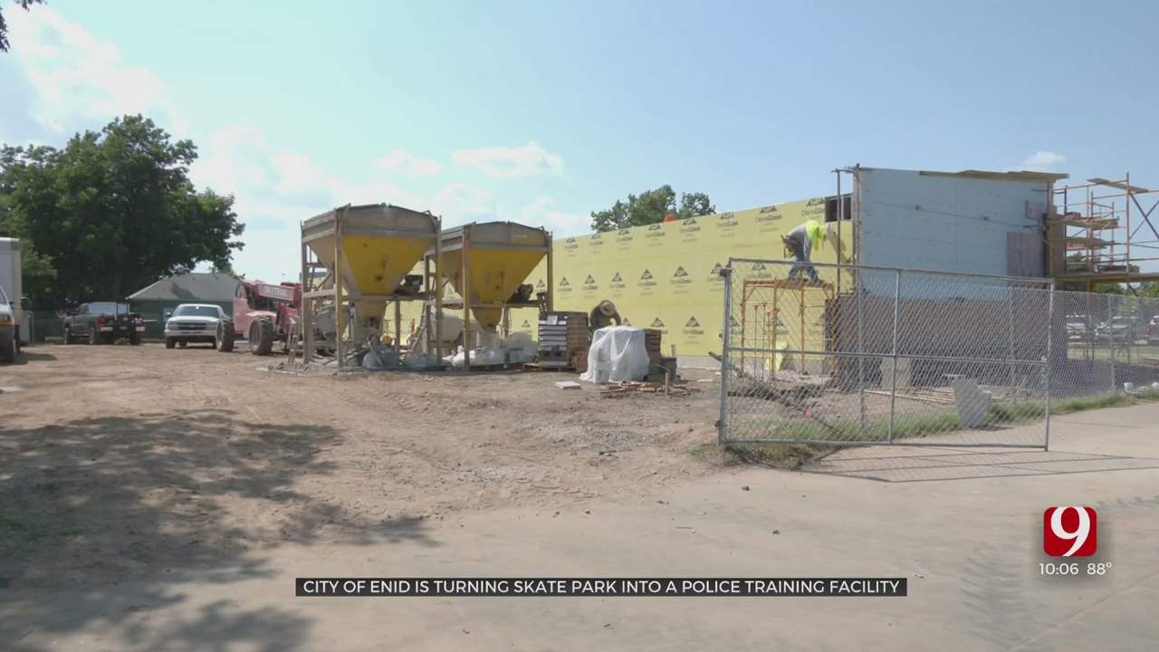 City Of Enid Turning Skate Park Into Police Training Facility