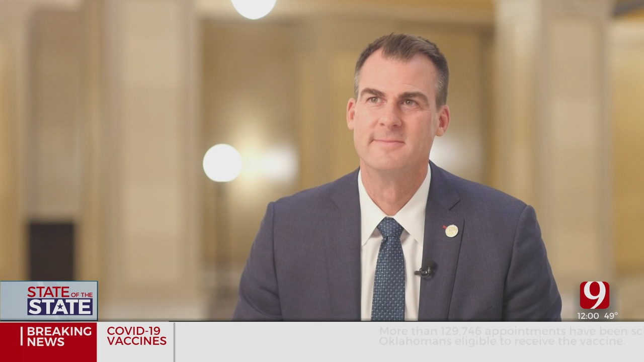 Preview: Gov. Stitt To Give 3rd 'State Of The State' Address