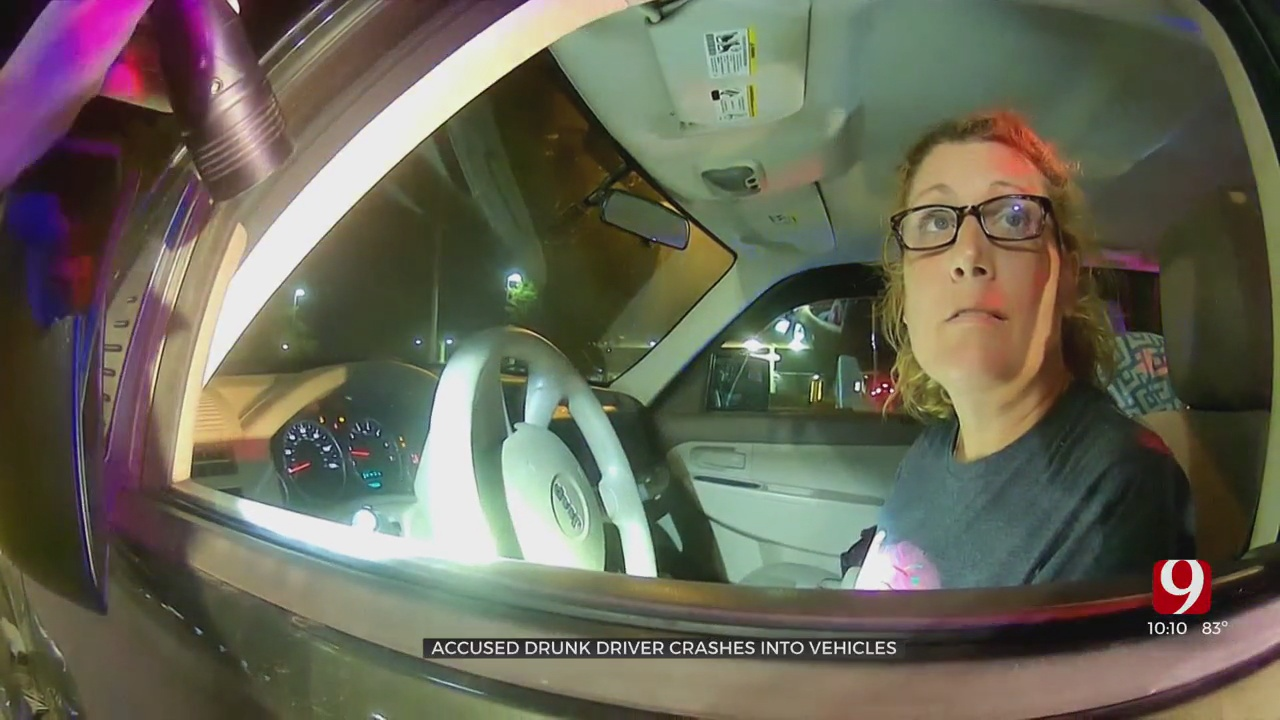 Woman Hits Multiple Cars & Flees The Scene, Charged With DUI