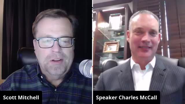 WATCH: Speaker Charles McCall, State Sen. Roger Thompson Talk Legislative Elections