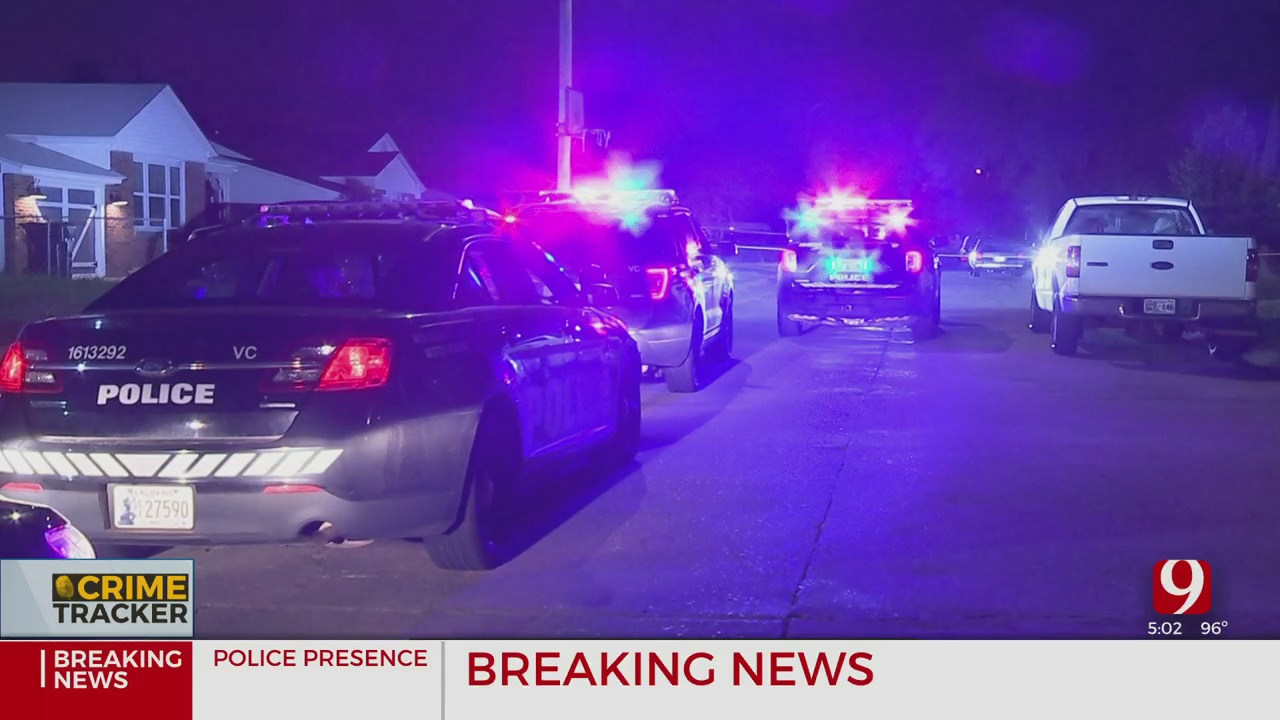 OKC Police Investigate After 19-Year-Old Shot, Killed In Front Of His Family