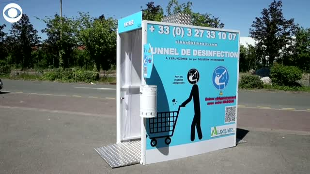 French Company Designs Disinfecting Tunnel