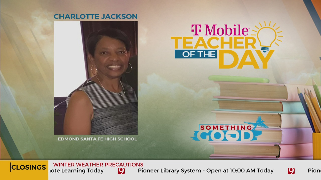 Teacher Of The Day: Charlotte Jackson