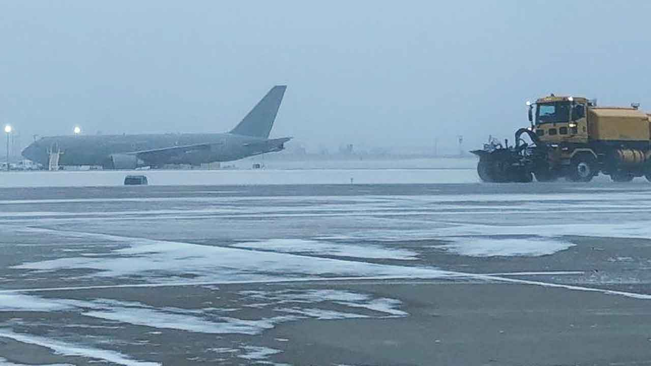 Will Rogers World Airport Experiencing Flight Delays, Cancellations Amid Winter Storms