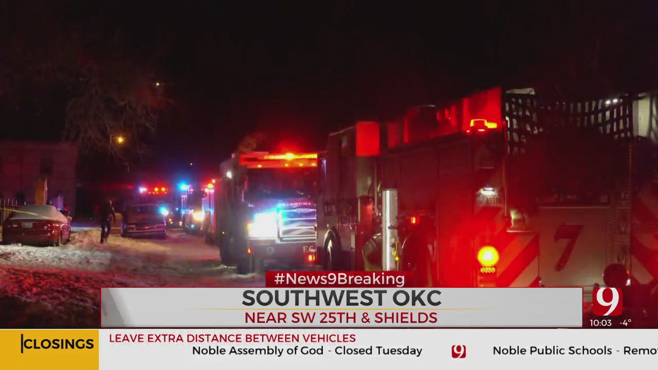 Man Dies In SW OKC House Fire, Officials Say
