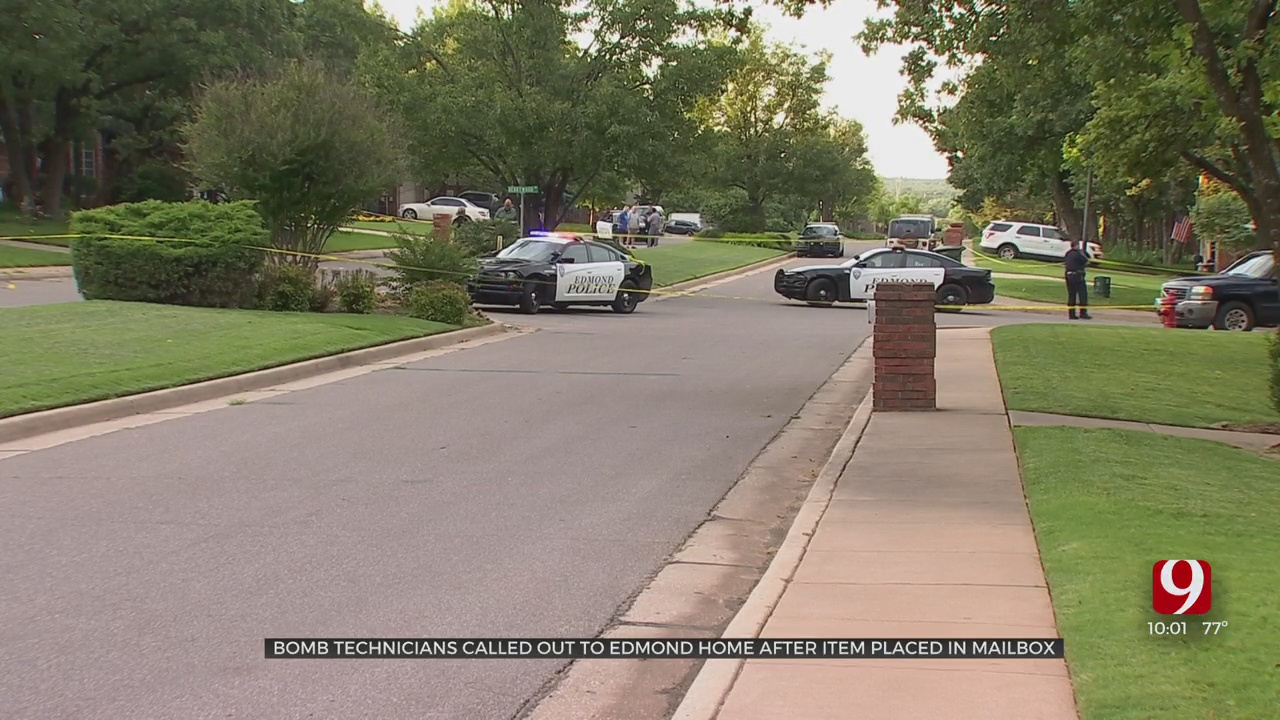 Police: Bomb Techs Respond To Edmond Home, No Threat To Public