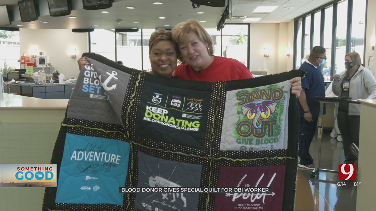 Longtime OBI Worker Surprised With Special Gift From Donor
