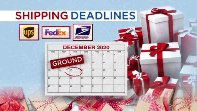 Shipping Deadlines For Christmas Are Fast Approaching