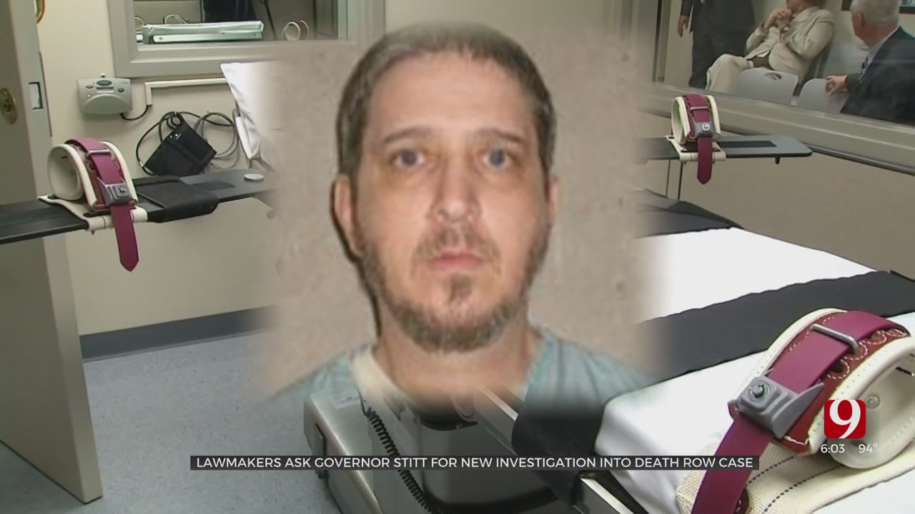 Lawmakers Request Case Review Of Death Row Inmate Richard Glossip In Letter To Stitt