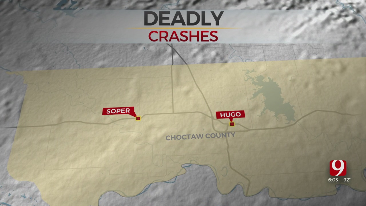 OHP Responds To Separate Fatal Collisions In Seminole, Caddo Counties