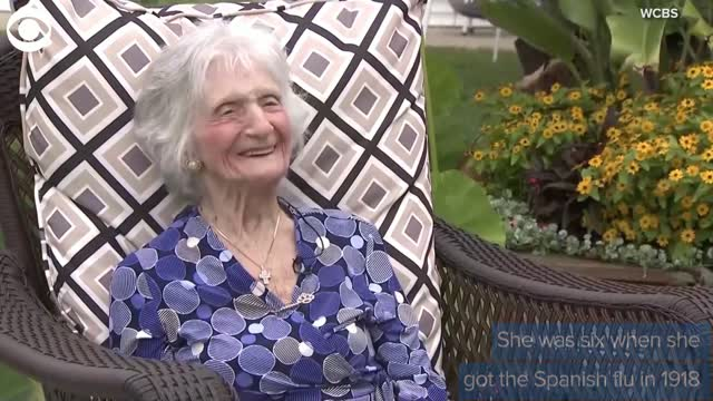Meet The 107-Year-Old Who Has Lived Through 2 Pandemics