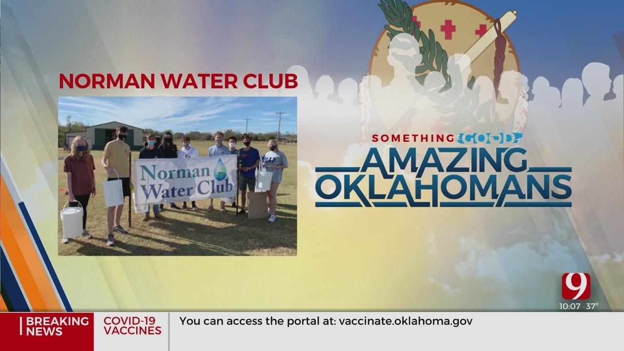 Amazing Oklahomans: Norman Water Club