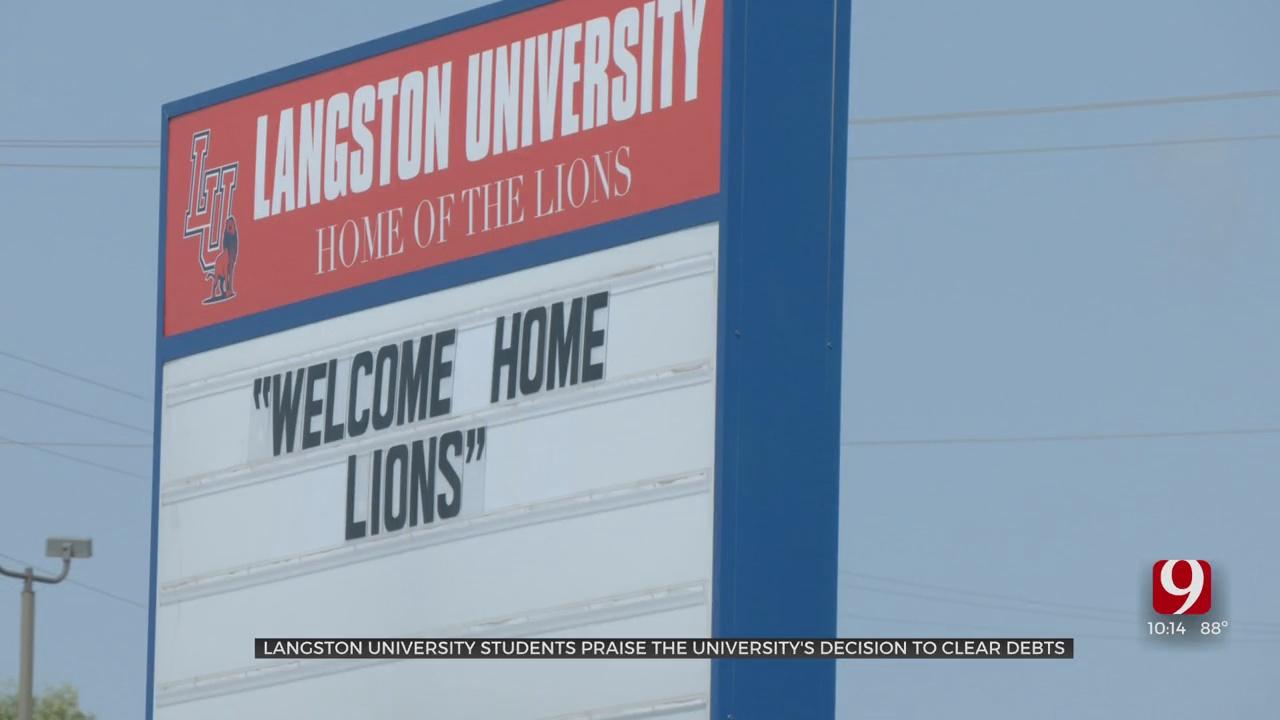 Students Praise Langston University's Decision To Forgive $4.6 Million In Balances