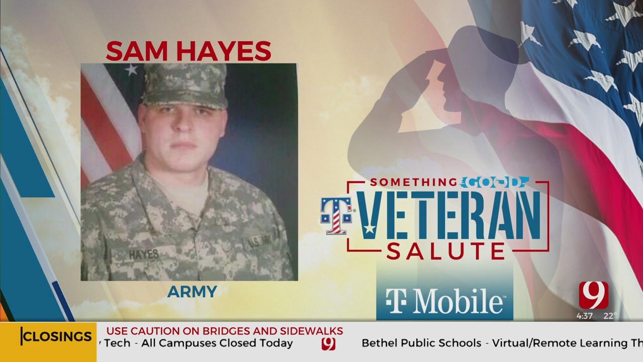Veteran Salute: Sam Hayes