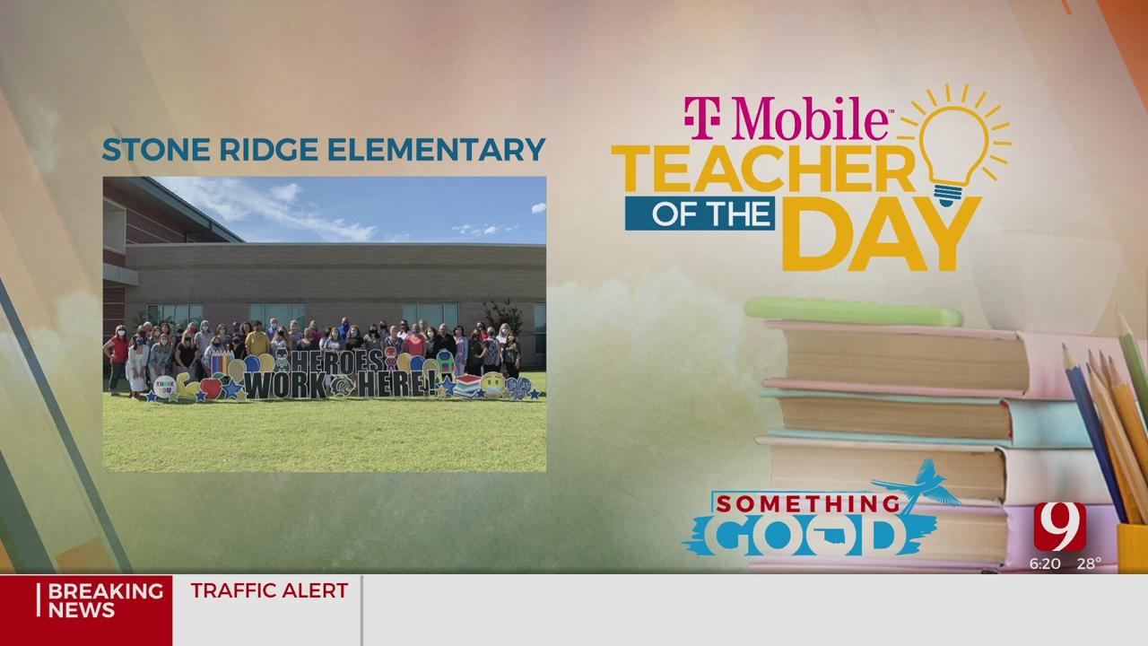 Teacher Of The Day: Teachers, Staff Of Stone Ridge Elementary