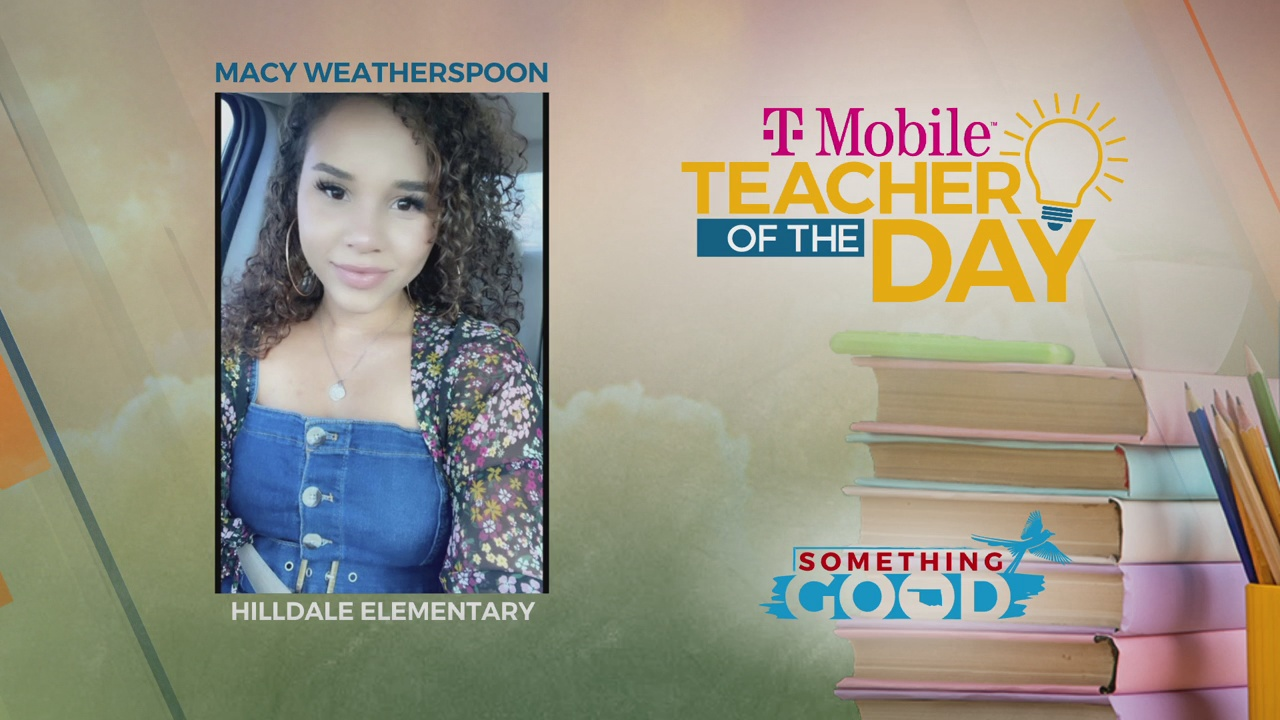Teacher Of The Day: Macy Weatherspoon