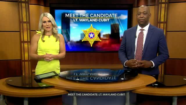 Meet The Candidate: Lt. Wayland Cubit