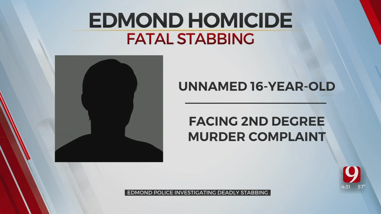 16-Year-Old Accused In Fatal Stabbing As Edmond PD Investigate 1st Homicide Of 2021