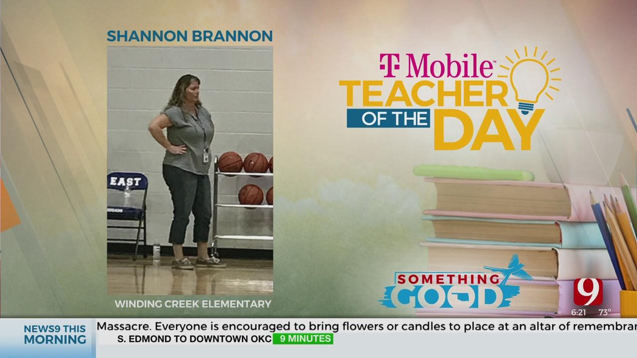Teacher Of The Day: Shannon Brannon