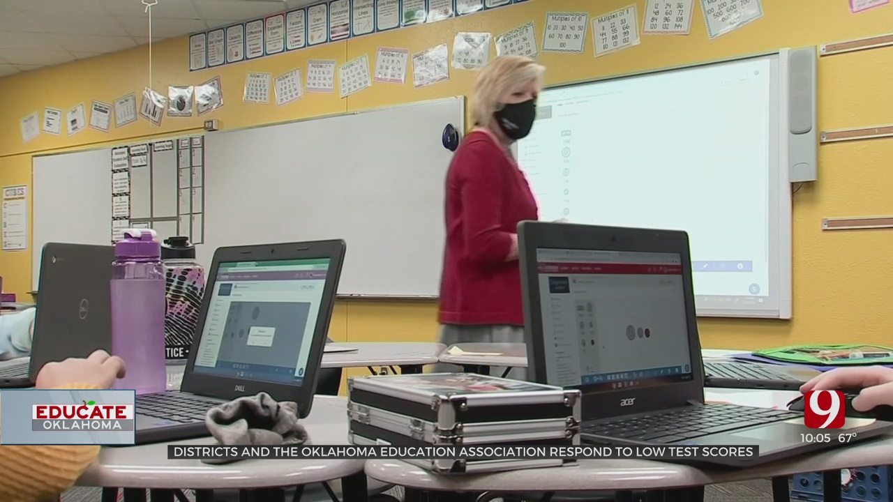 Districts React To Oklahoma State Department Of Education Testing Data