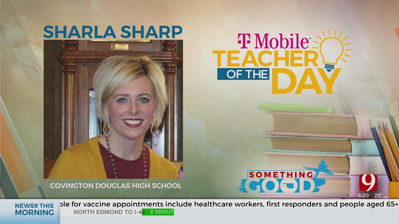 Teacher Of The Day: Sharla Sharp