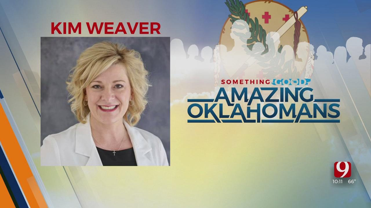 Amazing Oklahoman: Kim Weaver