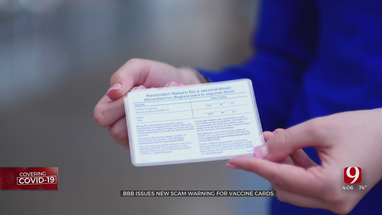 FBI: Buying, Selling Fake COVID Vaccination Cards Could Lead To Fines, Jail Time