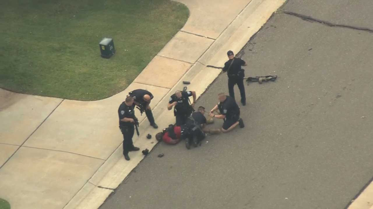 Police Reportedly Shoot Armed Suspect Accused Of Opening Fire In Edmond Neighborhood