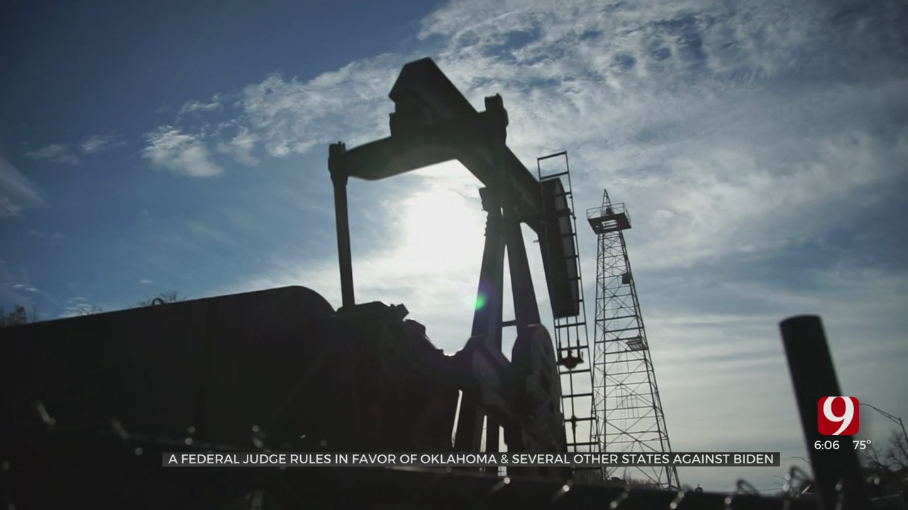 Federal Judge Rules In Favor Of Oklahoma, Several States Regarding Oil And Gas
