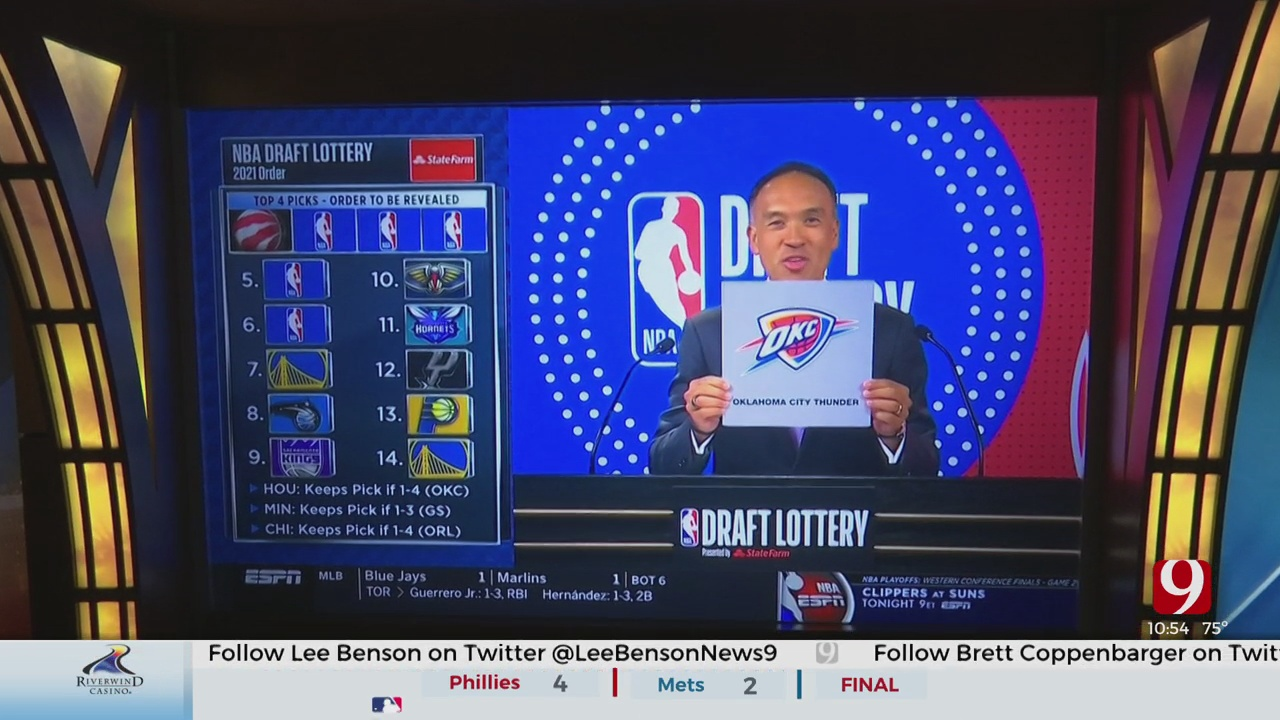 Lottery Letdown For The Thunder