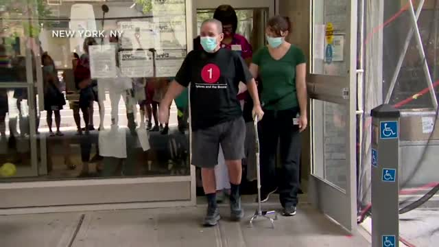 WATCH: Miracle Larry Goes Home After Being Hospitalized For More Than 120 Days With COVID-19