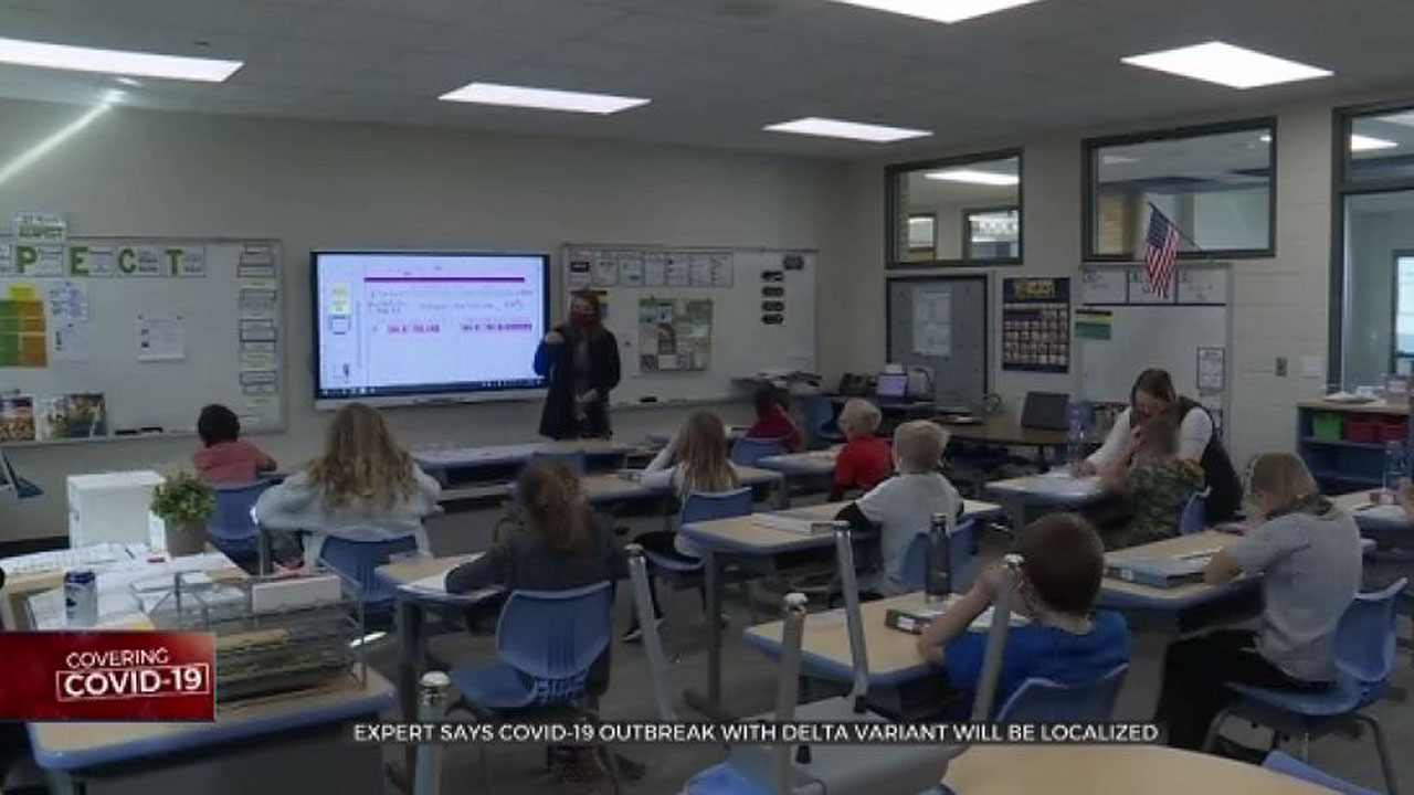 Health Experts Warn Parents About Increased COVID Cases As School Year Nears