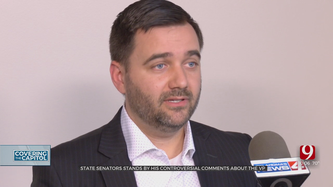 State Sen. Dahm Stands By His Controversial Comments About VP Harris