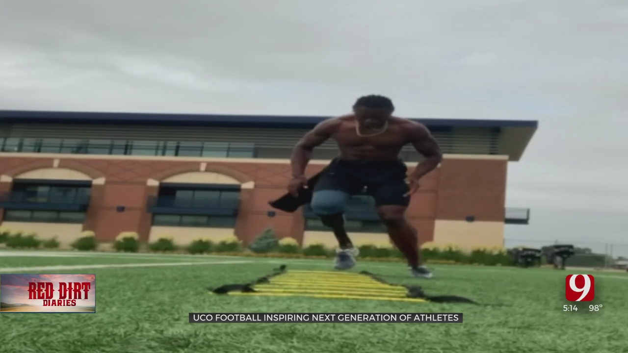 Red Dirt Diaries: UCO Football Player Makes Remarkable Comeback After Horrifying Accident