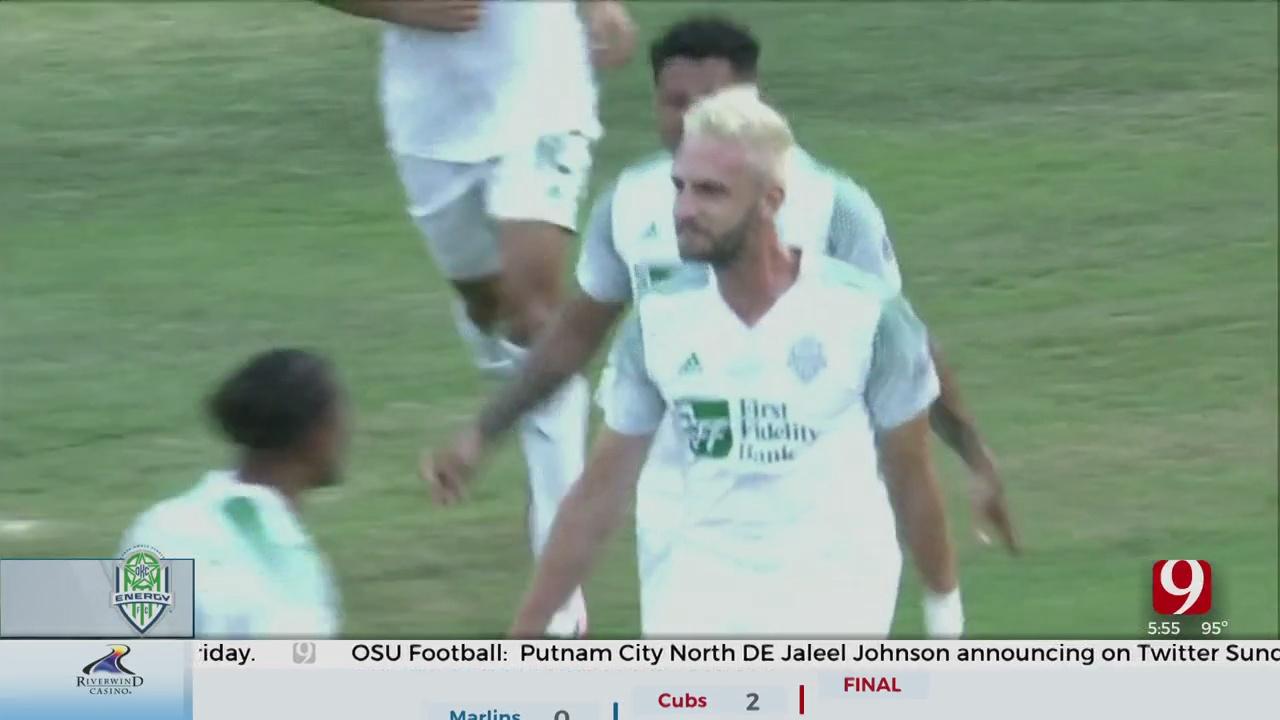 OKC Energy FC Earns First Win Of Season