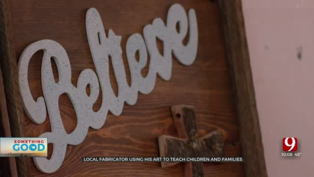 Local Fabricator Using Christmas Ornaments As Way To Give Back