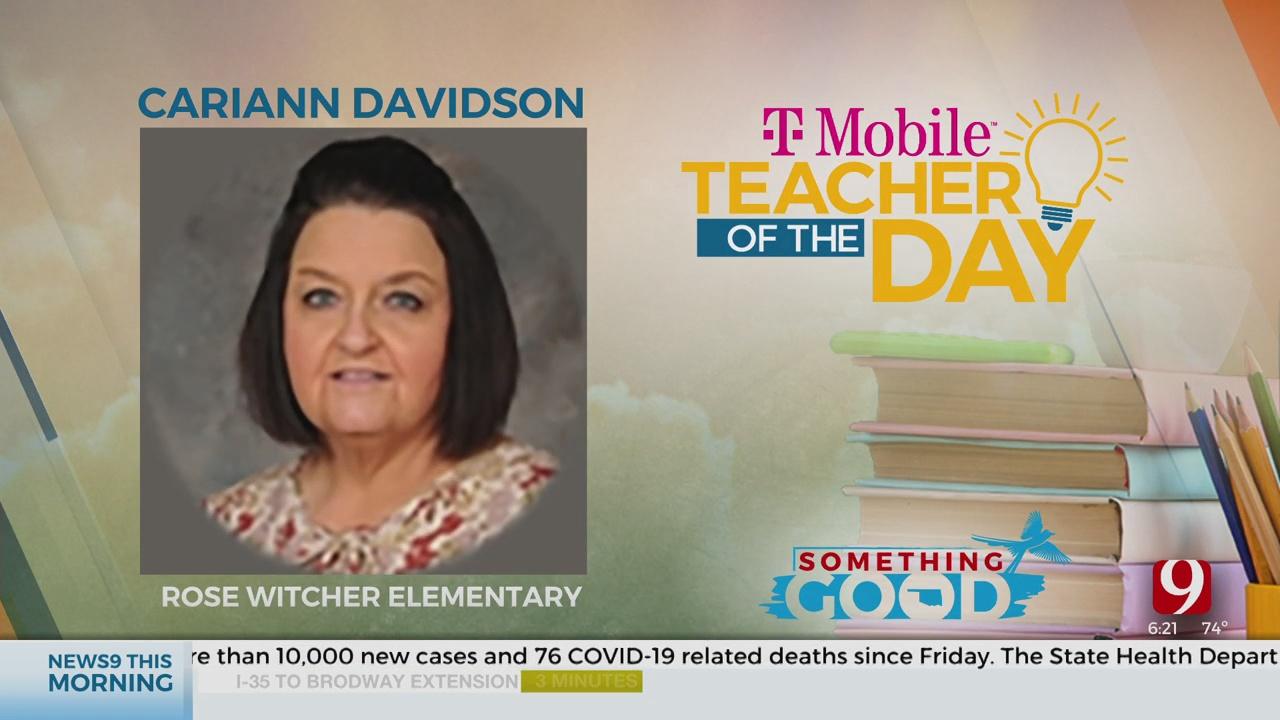 Teacher Of The Day: Cariann Davidson