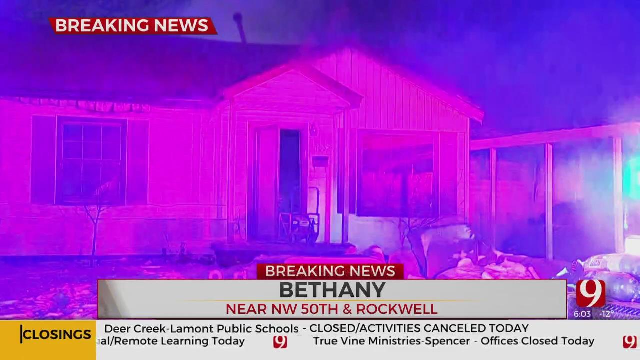 Bethany House Fire