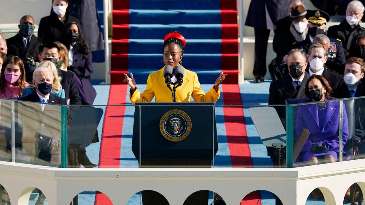 Amanda Gorman Reads 'The Hill We Climb' At President Biden's Inauguration