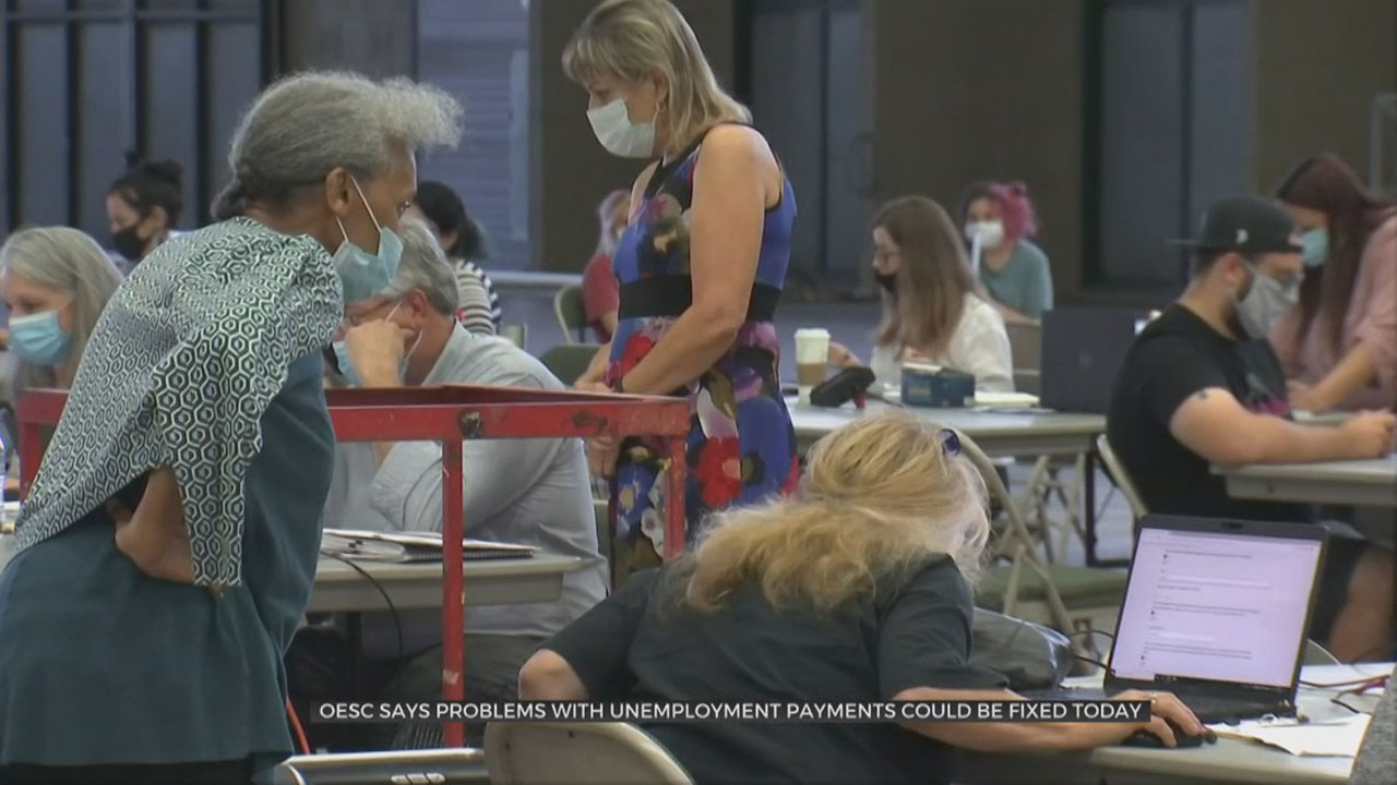 OESC Says Problems With Unemployment Payments Could Be Fixed