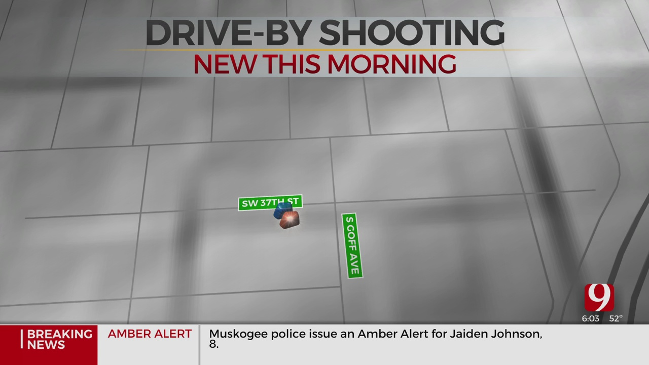 1 Arrested, 1 Injured After Drive-By Shooting In SW OKC