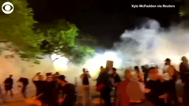 Fires Flare Near White House Amid Rising Tensions With Police During Protests