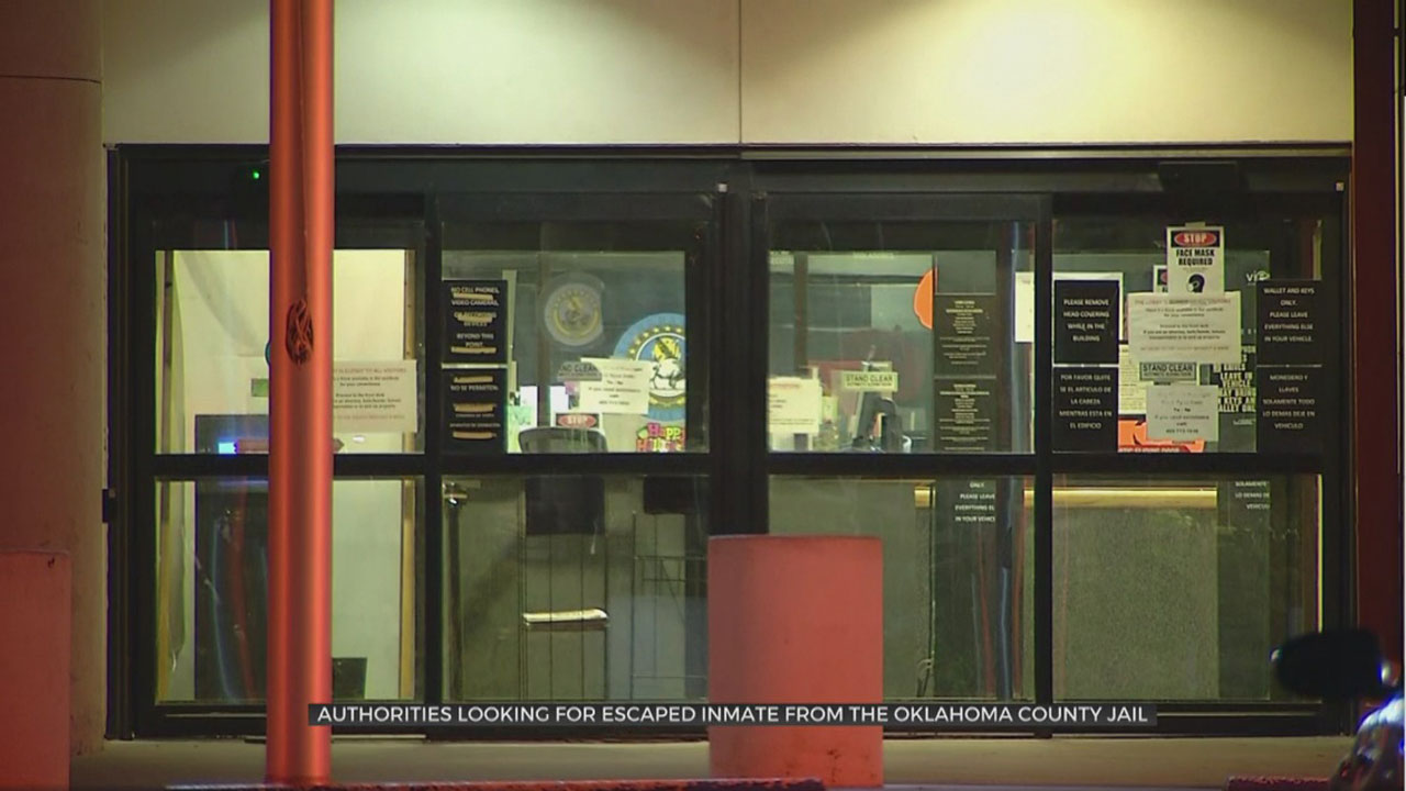 Inmate Walks Away From Oklahoma County Detention Center