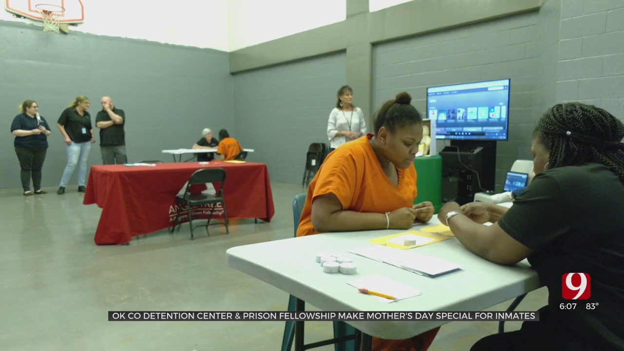 New Partnership Helps Inmates Have Special Mother's Day Weekend