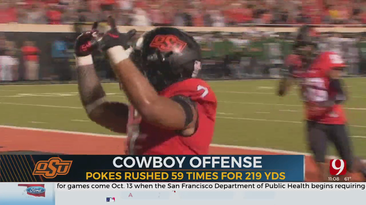 OSU Football Breakdown: Cowboys Knock Off Bears
