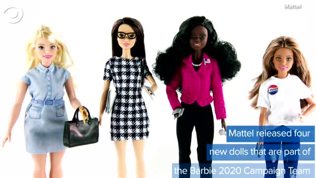 WATCH: Barbie Runs For Office